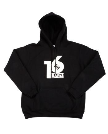 16 BARIS HOODIE - BLACK