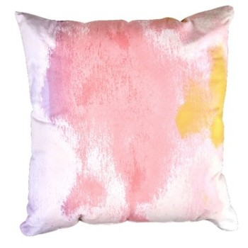 Mode Sorbet Distortion Pink Clouds Cushion
