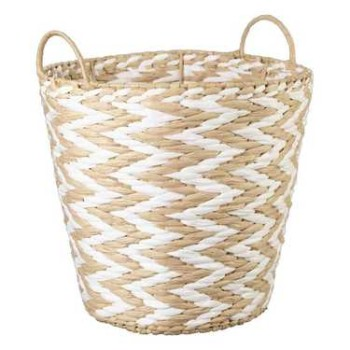 Ombre Home Chevron Basket Large