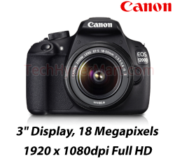 Canon EOS 1200D Kit (EFS18-55 IS II) DSLR Camera
