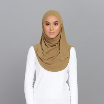 Lisaa Instant Moss Crepe Mustard