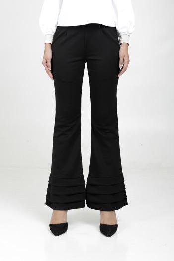 Alma Flared Pants Black