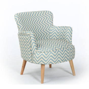 Wide Scandinavian Armchair