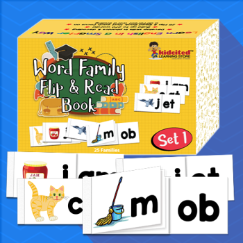 Word Family Flip and read Book Set 1