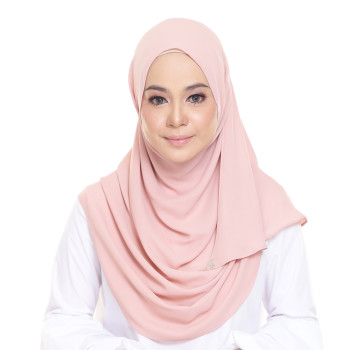 Lisaa Instant Chiffon Coral Pink