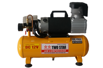 TWO STAR FD-D108(4)-DC12V 12VDC Oil Free Air Compressor with low