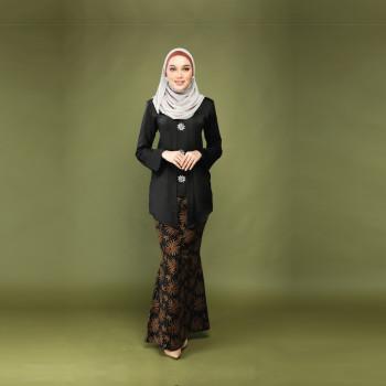 Dewi Kebaya Luxe Smokey Black