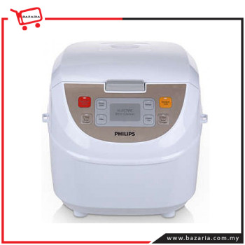 PHILIPS VIVA COLLECTION FUZZY LOGIC RICE COOKER HD3130/60