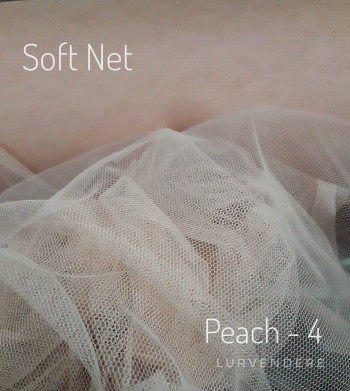 Soft Net - Peach ( 4 )