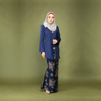 Dewi Kebaya Luxe Dark Blue