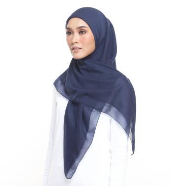 AZEyelashes Cotton Navy Blue