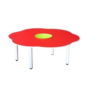 4' Flower Shaped Manipulatives Table