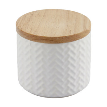 Small Embossed Canister