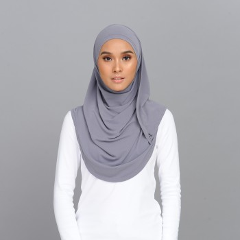 Lisaa Instant Moss Crepe Grey