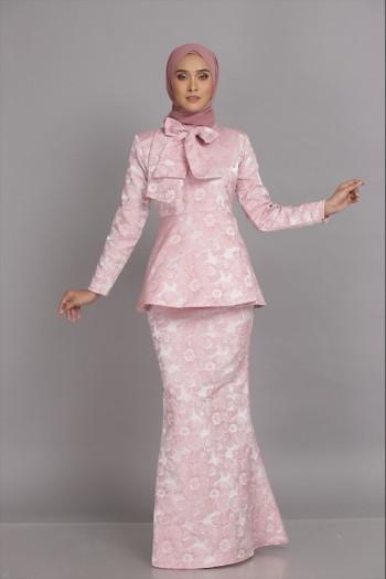 Isabella Peplum Pink