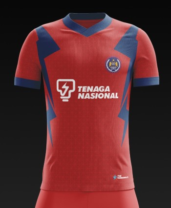 Malaysia Hockey Official Training Jersey - RED