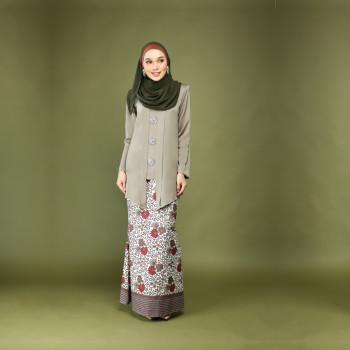 Dewi Kebaya Luxe Dusty Olive