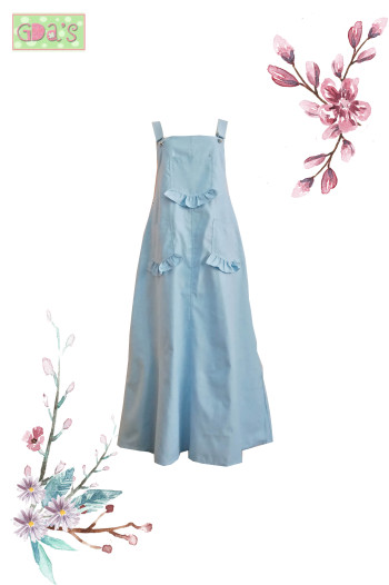 BELLE OVERALL IN BLUE
