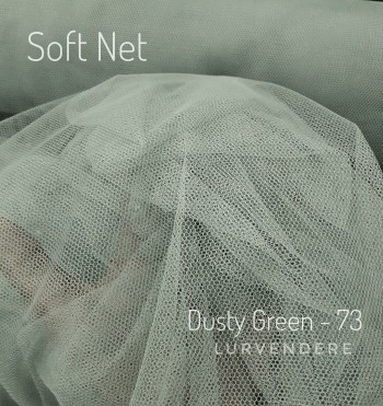 Soft Net - Dusty Green ( 73 )