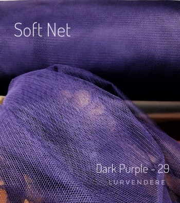 Soft Net - Dark Purple ( 29 )