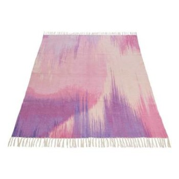 Harriet Pink Cotton Rug