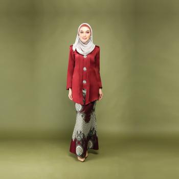 Dewi Kebaya Luxe Deep Rose