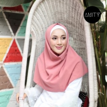 AMITY LONG SQUARE INSTANT DUSTY ROSE