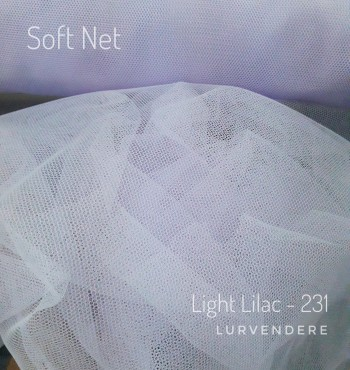 Soft Net - Light Lilac ( 231 )