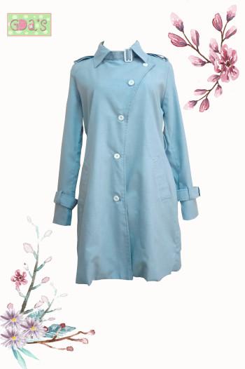 YUMI COAT IN BLUE