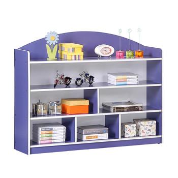 6 Level Economy Large Storage Shelf - Purple