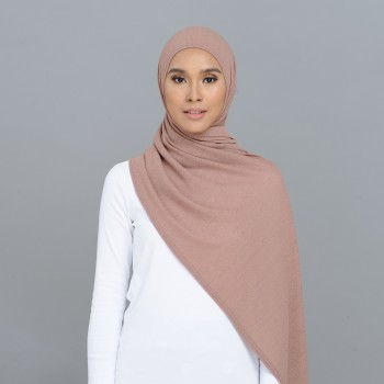 Kate Scarf Rosy Brown