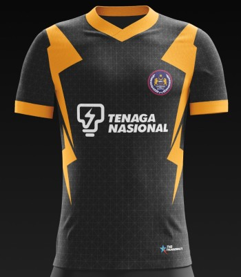 Malaysia Hockey Official Training Jersey - BLACK