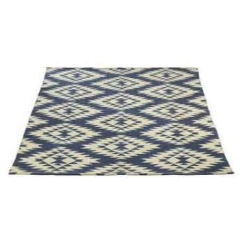 Kellar Blue Cotton Rug
