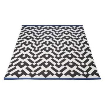 Geometric Printed Cotton Rug