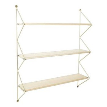 3 Tier Wall String Shelf (Multicolored)
