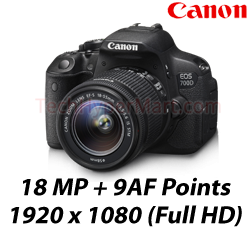 Canon EOS 700D Kit (EFS 18-55IS STM) DSLR Camera