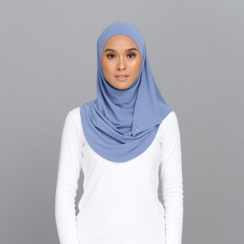 Lisaa Instant Moss Crepe Turkish Blue