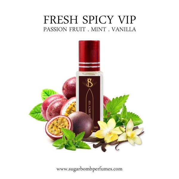 Fresh Spicy VIP EDP 8 ml  - Sugarbomb Perfumes