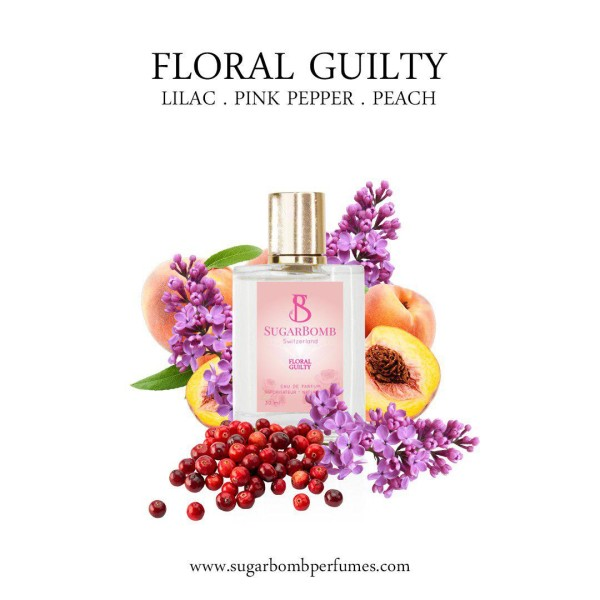 Floral Guilty EDP 30 ml  - Sugarbomb Perfumes