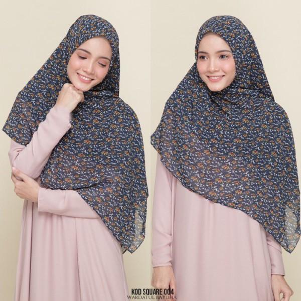 CHIFFON SQUARE - Wardatul Baydha Hijab