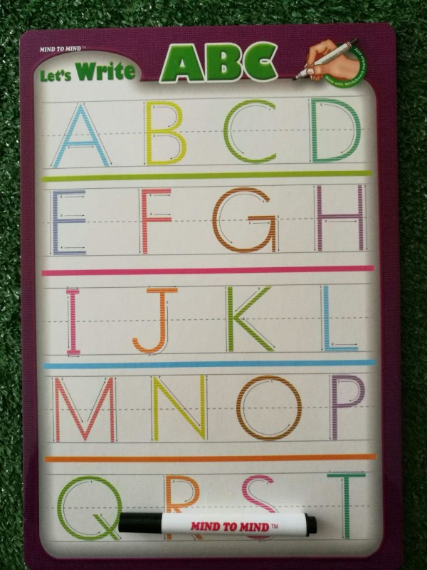 Let's Write ABC Mini Board (Uppercase) - Kidcited Learning Store