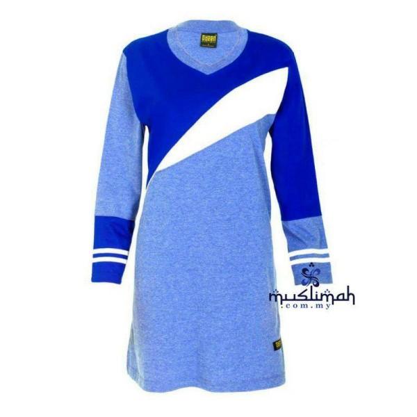 FM501 ROYAL BLUE - Muslimah.com.my - Muslimah Online Shopping