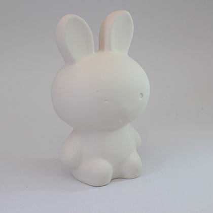 Ceramic Coin bank (L) - Rabbit - Kidcited Learning Store