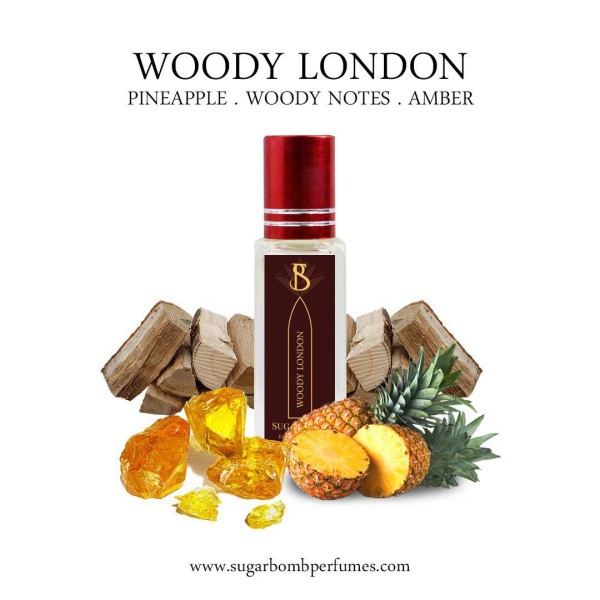 Woody London  EDP 8 ml    - Sugarbomb Perfumes
