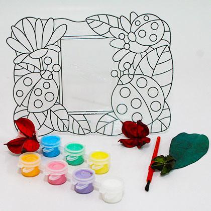 Suncatcher Frame - Ladybird Garden - Kidcited Learning Store