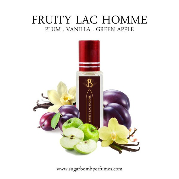 Fruity Lac Homme EDP 8 ml   - Sugarbomb Perfumes