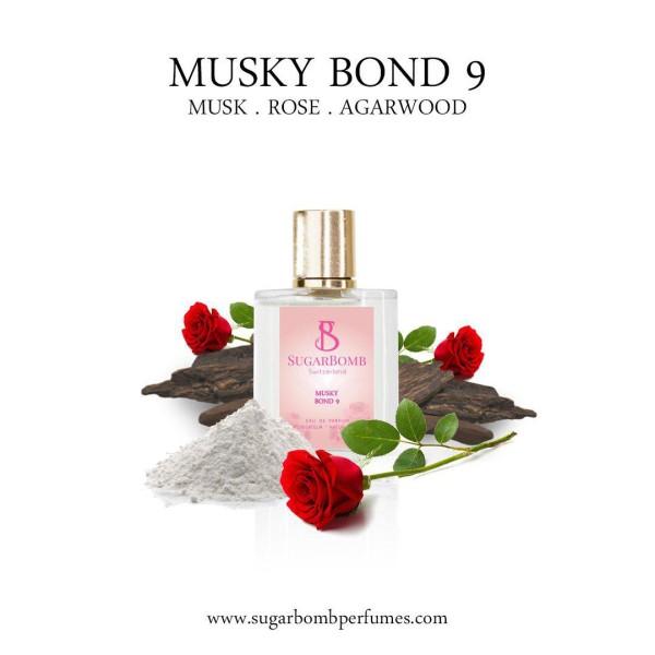 Musky Bond 9 EDP 30 ml     - Sugarbomb Perfumes