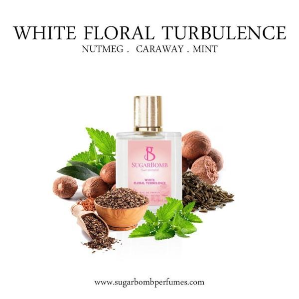 White Floral Turbulence EDP 30 ml  - Sugarbomb Perfumes
