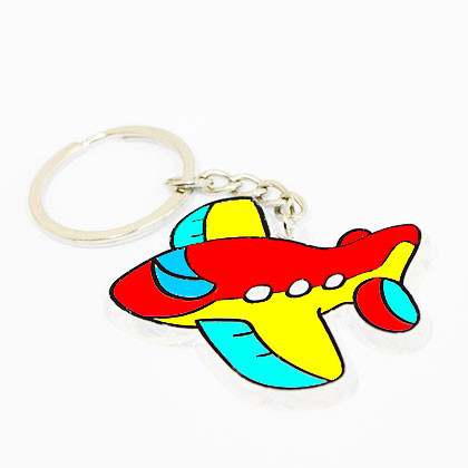 Suncatcher Keychain - Little Aeroplane - Kidcited Learning Store