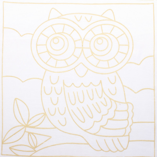 Batik Painting Set - Owl (116)  - Kidcited Learning Store